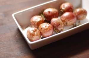 Baked New Potatoes with Rosemary