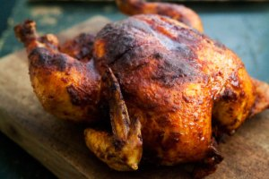 Roasted Chicken with Smoked Paprka