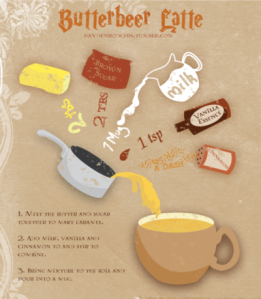butterbeer lattes