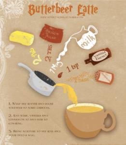 butterbeer lattes